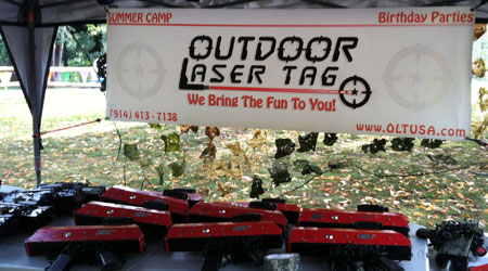 Outdoor Laser Tag